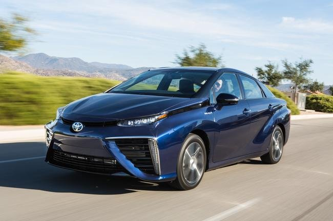 Toyota Mirai - samochód na wodór