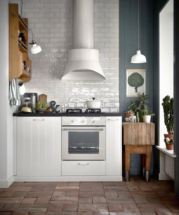 Kuchnia w stylu skandynawskim -> Kuchnia Hittarp Ikea