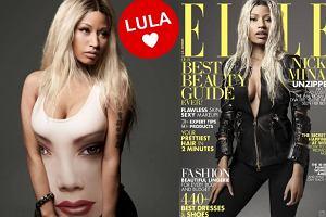 """Nicki Minaj na ok�adce """"Elle"""". Nowe szaty cesarzowej rapu [ZDJ�CIA]"""