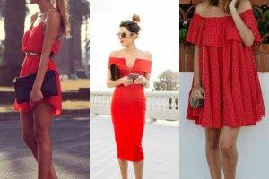 Czerwone sukienki - wybierz z nami swój ulubiony model!