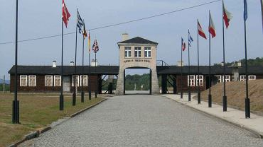 Brama obozu Gross-Rosen