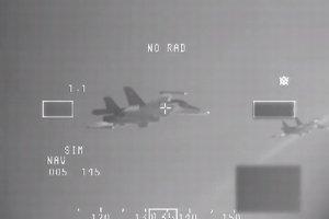 Holenderskie F-16 poderwane z bazy w Malborku. Przechwyci�y dwa rosyjskie bombowce