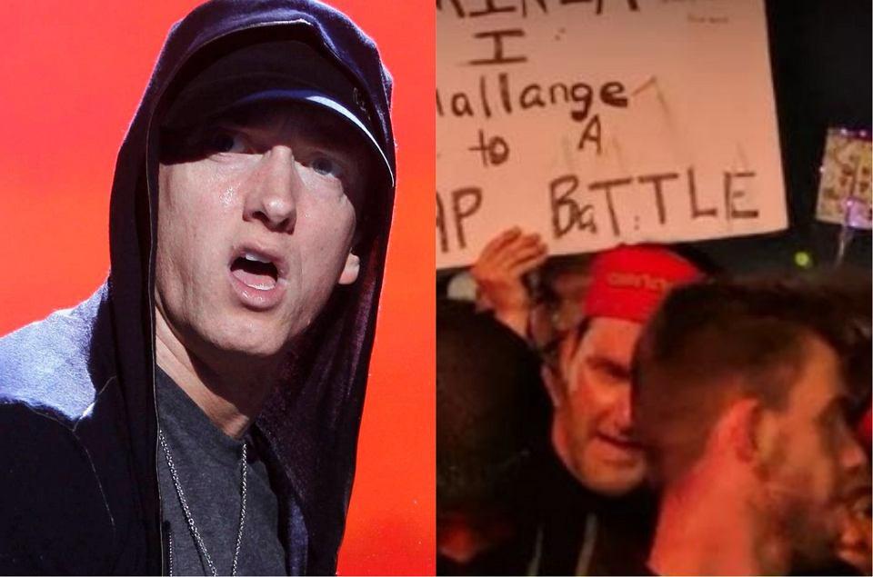Wybuch paniki na koncercie Eminema