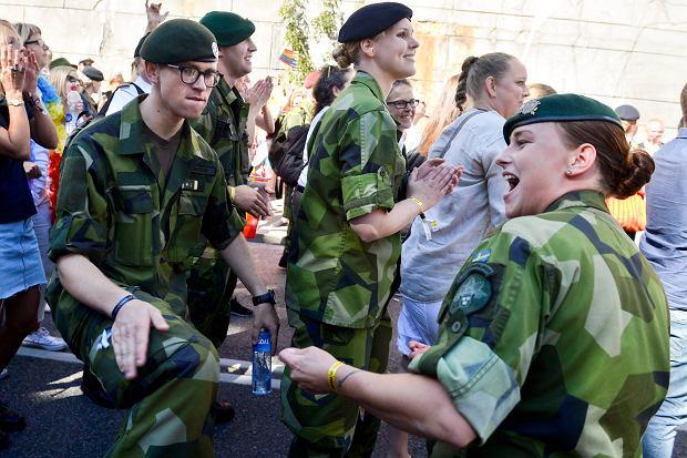 Szwecja po siedmiu latach przywraca obowiązkową służbę wojskową