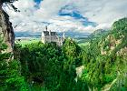 Bawaria d��y do niepodleg�o�ci? Na zdj�ciu zamek Neuschwanstein w Bawarii