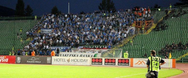 UEFA ukara�a Lecha! 200 tys. z� i zamkni�cie stadionu na jeden mecz. Kara za rasistowski napis na fladze
