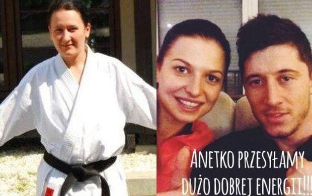 20 lat trenowa�a karate. Pewnego dnia �le si� poczu�a. W szpitalu amputowano jej nogi i d�onie