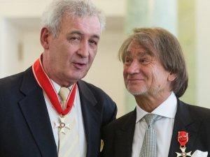 Waldemar D�browski i Jan Kulczyk