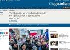 """""""Guardian"""": Europa s�usznie si� niepokoi o Polsk�. Sp�r idzie o podstawowe normy demokratyczne"""