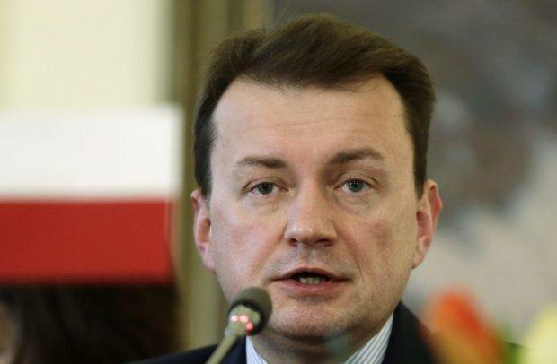 Szef MSW Mariusz B�aszczak