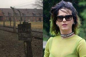 Katy Perry w Polsce. Odwiedzi�a Auschwitz: Patrz� na to z ci�kim sercem