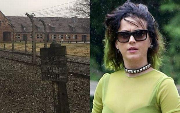 Katy Perry w Polsce. Odwiedziła Auschwitz: Patrzę na to z ciężkim sercem