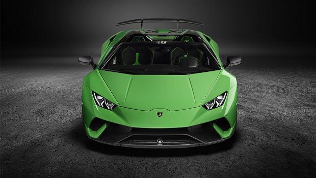 Lamborghini Huracan Performante | Zielony potwór bez dachu