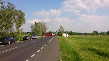 Jedna osoba zginęła w wypadku na obwodnicy Karczewa