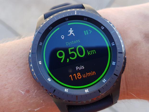 Samsung Gear s3 - wyświetlacz
