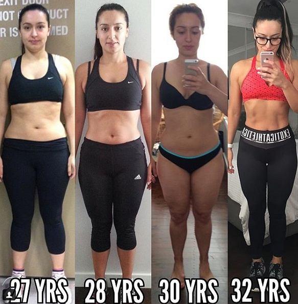 Ta kobieta straciła 11% tkanki tłuszczowej
