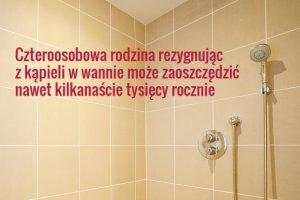 Wanna kontra prysznic. Co się bardziej opłaca?