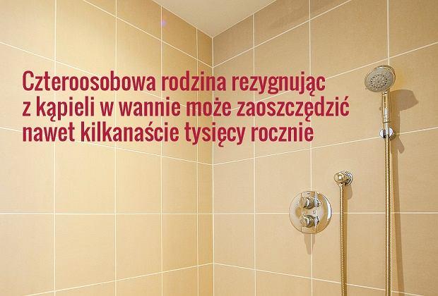 Wanna Kontra Prysznic Co Się Bardziej Opłaca