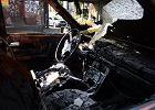 Masowe podpalenia samochodów w Chełmnie. Policja ustaliła sprawcę. Jest bardzo młody