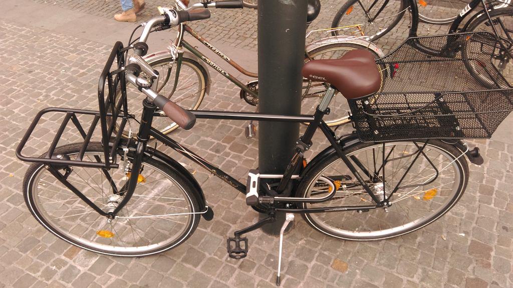 Zabezpieczenie roweru w sposób tradycyjny
