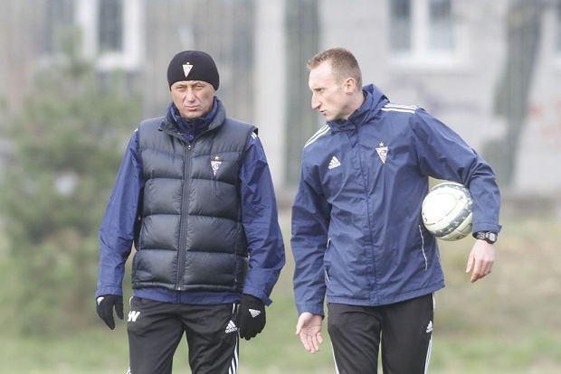 Ryszard Wieczorek (z lewej) i Marcin Prasoł