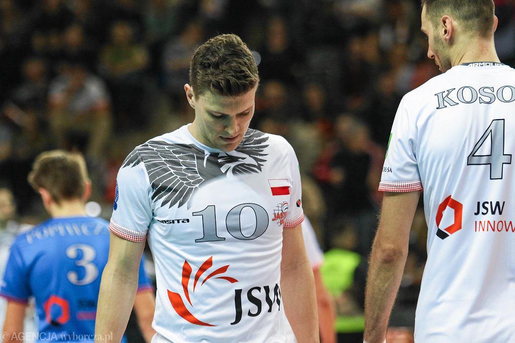 Lukas Kampa i Grzegorz Kosok w barwach Jastrzębskiego Węgla