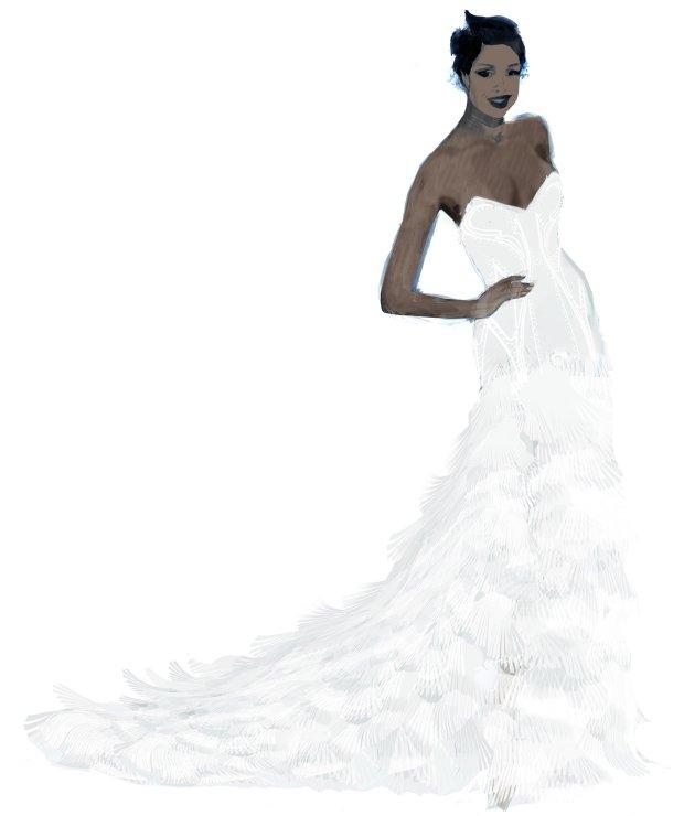 Suknia H&M Jennifer Hudson