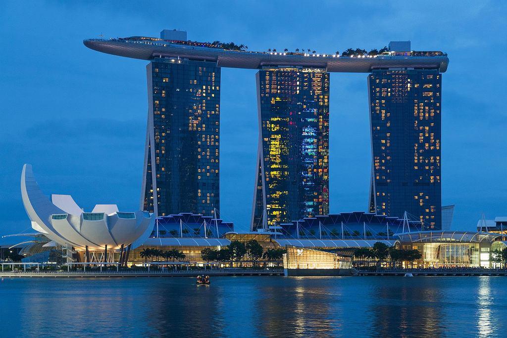 Luksusowy hotel w Singapurze