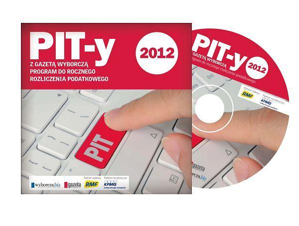 """""""Gazeta Wyborcza"""" z płytą """"PIT-y 2012"""""""