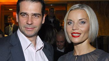 Paweł Deląg i Małgorzata Foremniak