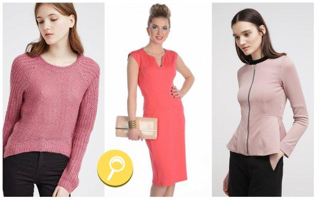 Ubrania w odcieniach r�u - przegl�d
