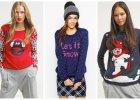 Świąteczne motywy na swetrach