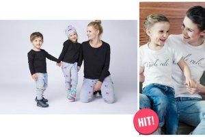 Identyczne ubrania dla rodzica  i dziecka