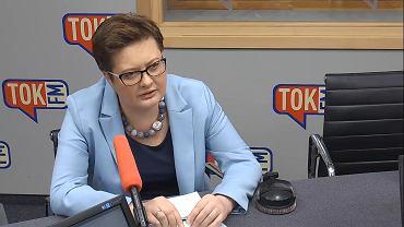 Katarzyna Lubnauer w studiu Radia TOK FM.