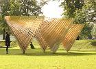 Pawilon inspirowany drewnian� architektur� Podlasia stan�� w Bia�ymstoku [ZDJ�CIA]