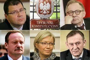 """PiS """"przepycha"""" w Sejmie pi�ciu swoich kandydat�w do Trybuna�u Konstytucyjnego, nie czekaj�c na wyrok w tej sprawie TK [2.12.2015]"""