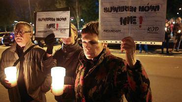 Demonstracja w obronie sądów