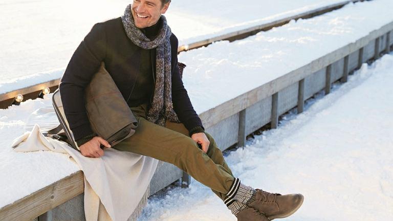 6ea7a11c197cc Męskie buty na zimę. Praktyczne i eleganckie