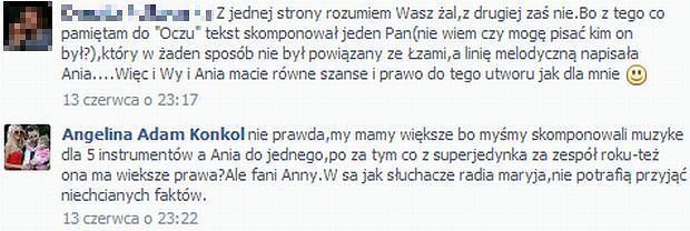 Angelina Konkol, Ania Wyszkoni