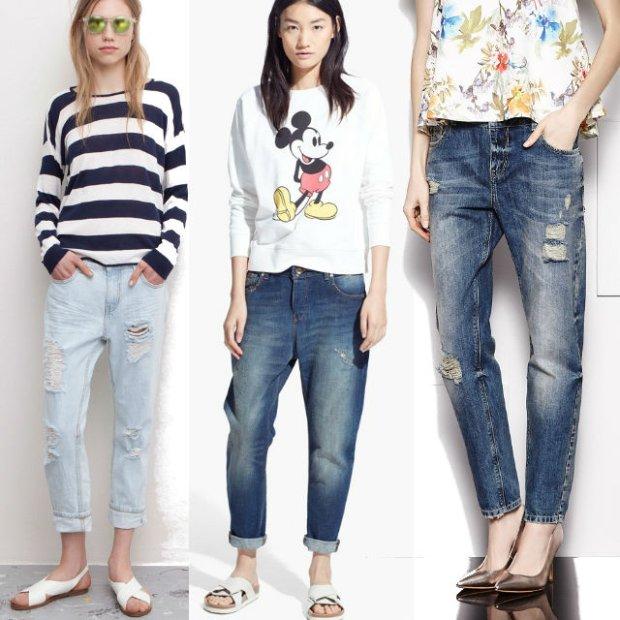 Klasyka z wyprzedaży: boyfriend jeans