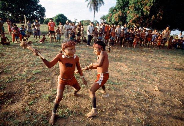 Indianie Shavante z Brazylii/ Fot. CC BY NC ND 2.0/United Nations Photo/ www.flickr.com/photos/un_photo/