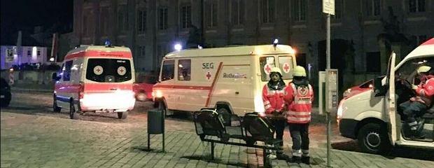 Wybuch w restauracji w niemieckim Ansbach. Są ofiary