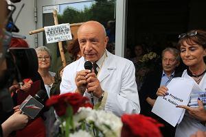 Prof. Chazan chce wr�ci� do Szpitala im. �wi�tej Rodziny