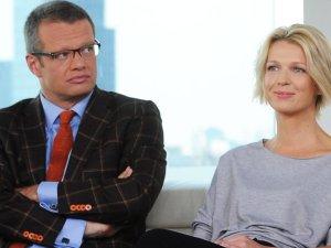 Marcin Meller i Magda Mo�ek