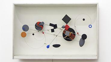Eksponat z nowej wystawy w Muzeum Sztuki Nowoczesnej: 'Obiekt kinetyczny KK 9a' Abrahama Palatnika