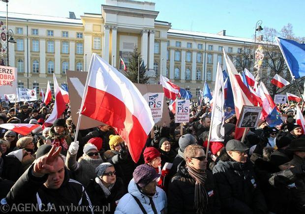 Demonstracja KOD -