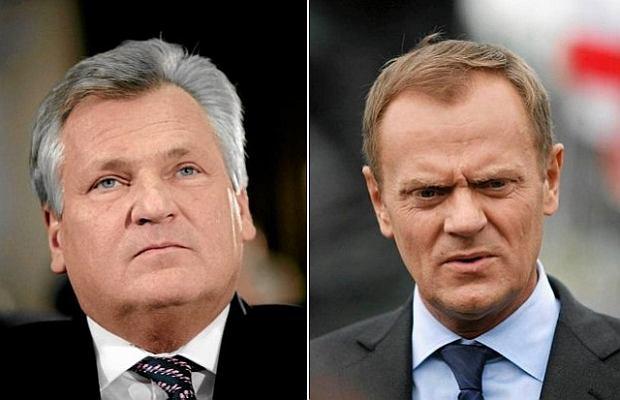 Aleksander Kwa�niewski, Donald Tusk