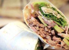 Tortilla z wołowiną i awokado - ugotuj