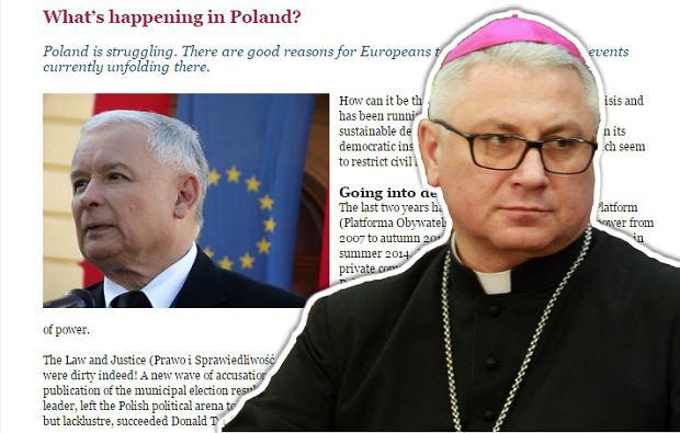 """Polscy biskupi domagają się usunięcia artykułu ze strony biskupów europejskich. """"Ingerencja w wewnętrzne sprawy"""""""