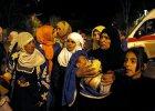 Syryjscy uchod�cy opuszczaj� Maday�
